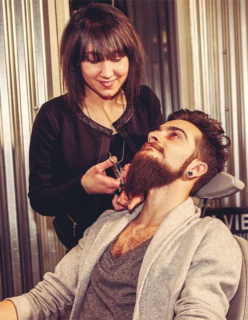 Au fil du rasoir barbier